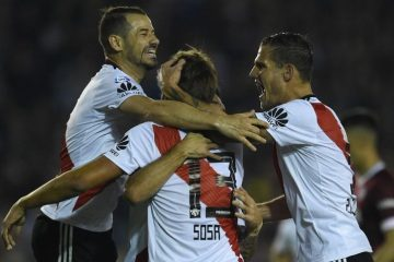 Superliga: River goleó 5-1 a Lanús y sigue invicto