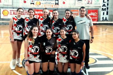 Buen debut de Voley Rivera sub 18
