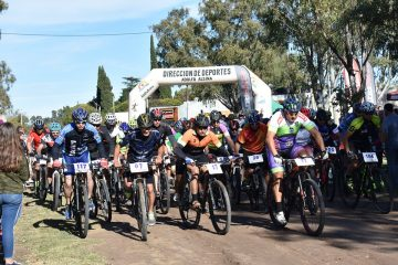 Jornada a pleno Rural Bike en Carhué