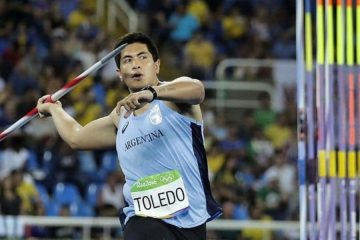 Falleció en un accidente el atleta olímpico Braian Toledo