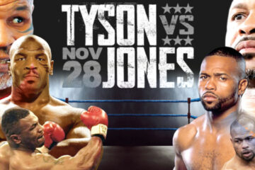 Tyson regresa al boxeo en una atractiva exhibición ante Roy Jones